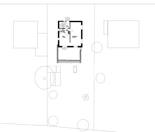 Wohnen Und Arbeiten/Atelier Sollen Unter Einem Dach Vereint Werden.  Zusätzlicher Raum Wird Erforderlich.
