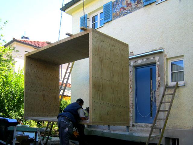 Windfang Gunther Schabert Architekten